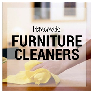 15 Homemade Furniture Cleaners: Make your own furniture cleaner for a fraction of the cost. Cleaning, dusting and polishing.