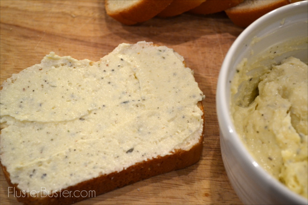 Grilled Cheese Sandwich for Grown-Ups. A simple recipe for an Italian style sandwich.