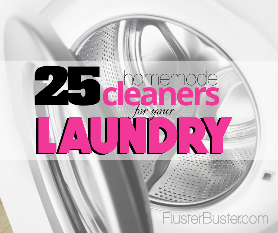 25 Ways to Clean Clothes for Less