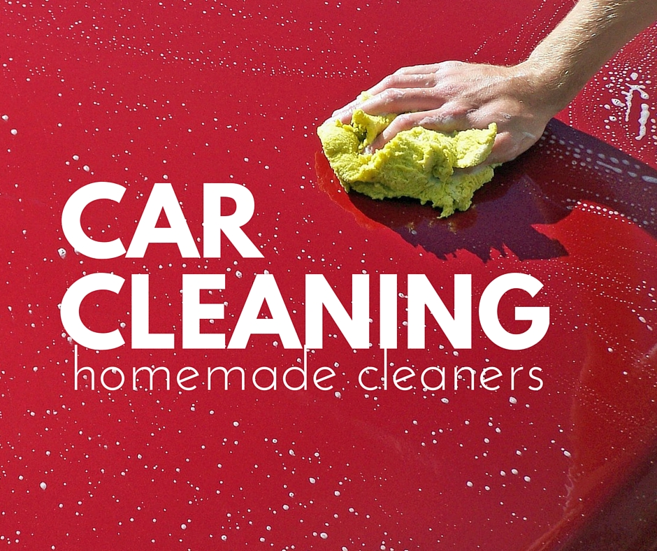 Homemade Auto Cleaners for DIY Detailing