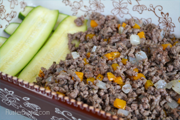 Zeayla: A Greek casserole layered with potatoes, zucchini, ground beef and topped with some cheesy crunch.