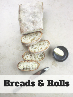 Simple Bread & Rolls Recipes