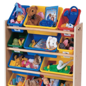 Tot Tutors Kids' Toy Organizer With Storage Bins
