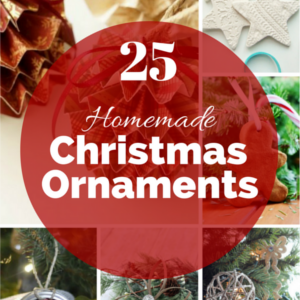 25 Homemade Christmas Ornaments