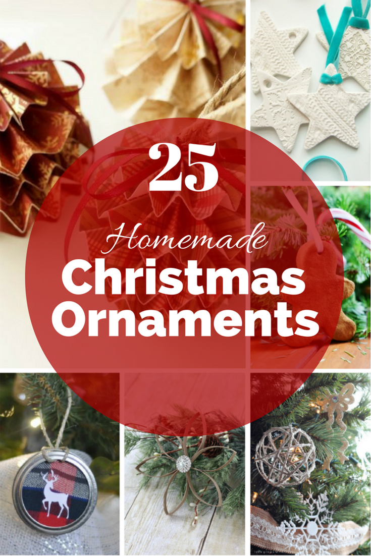 Create a Christmas Tree that shows your style at a fraction of the price by making your own Christmas ornaments.