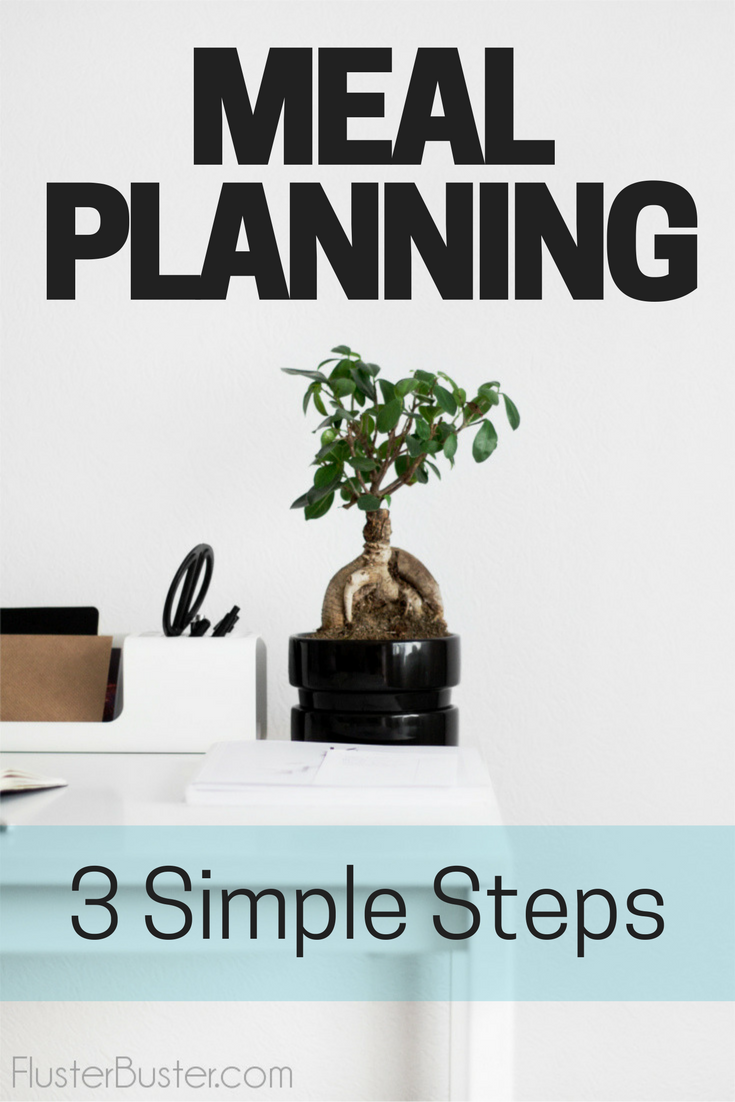 Creating a weekly meal plan saves time and money, improves nutrition, makes cooking more manageable and gives you more control over what you put on the table. These 3 simple steps, makes meal planning a breeze.