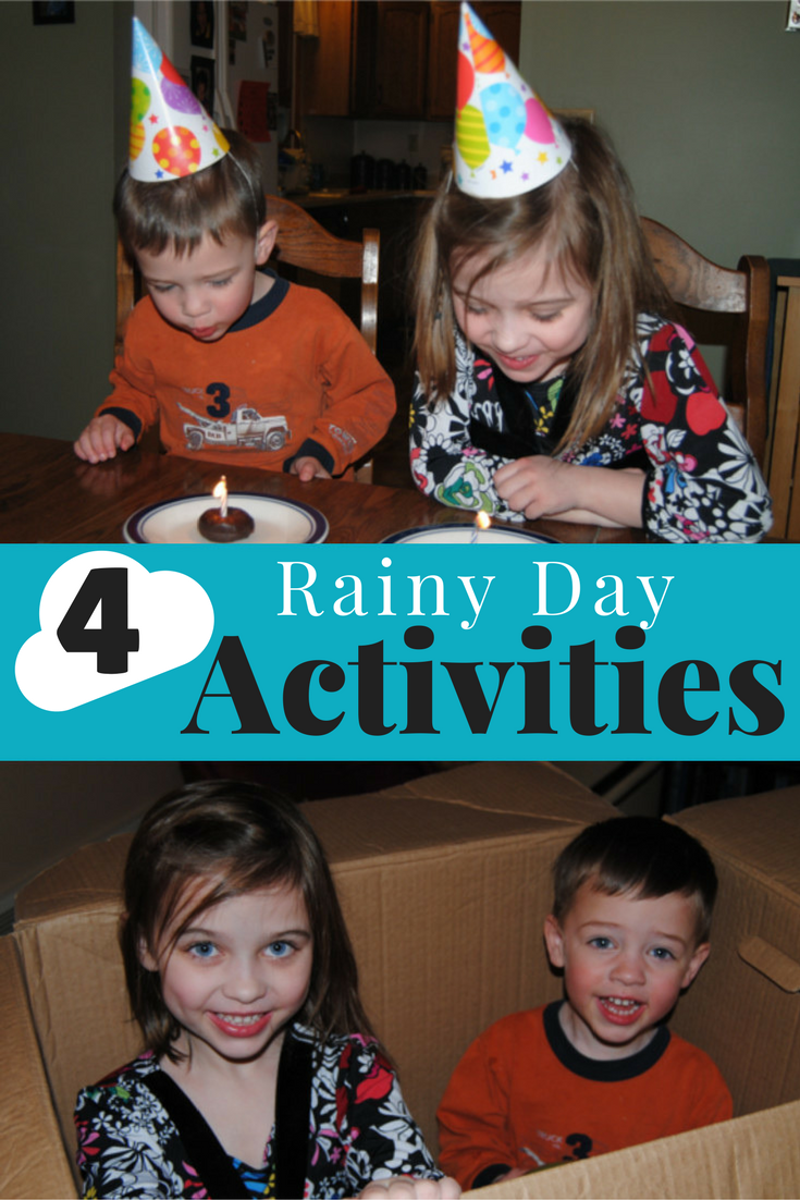 A few indoor activities that require minimal craftiness while stirring vast amounts of excitement in your kids..