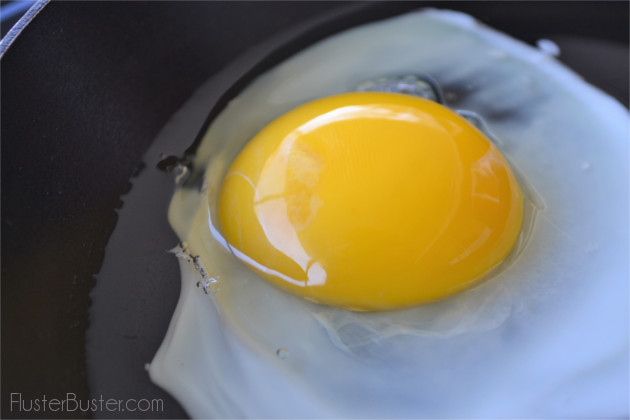 How to Make Perfect Sunny Side Up Eggs | Fluster Buster