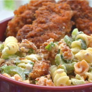 Salad Recipes – Buffalo Chicken Salad