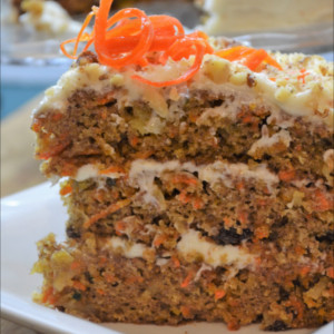 How to Make the Best Carrot Cake!! As far as carrot cake goes this one is the best, it has the perfect blend of spices, it's not overly sweet, and it has amazing texture.