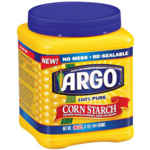 Frugal Living with Corn Starch