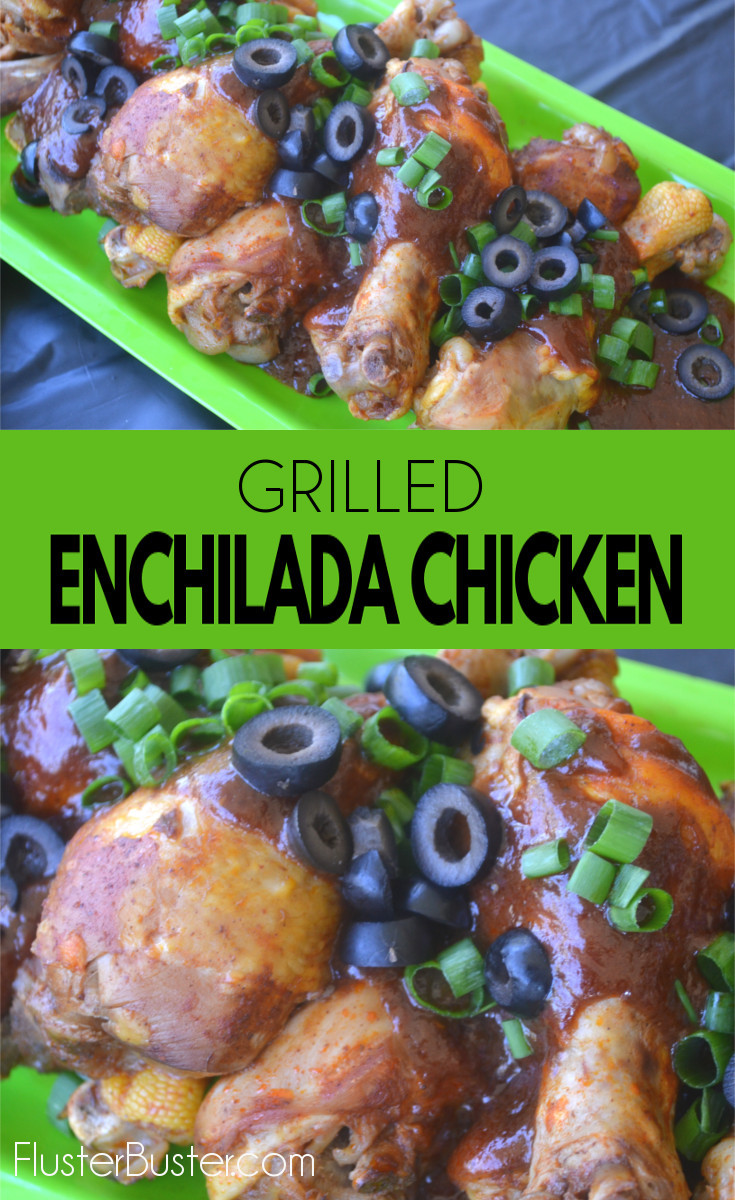 Enchilada Chicken: A spicy, smokey chicken dish that is simple and full of flavor.