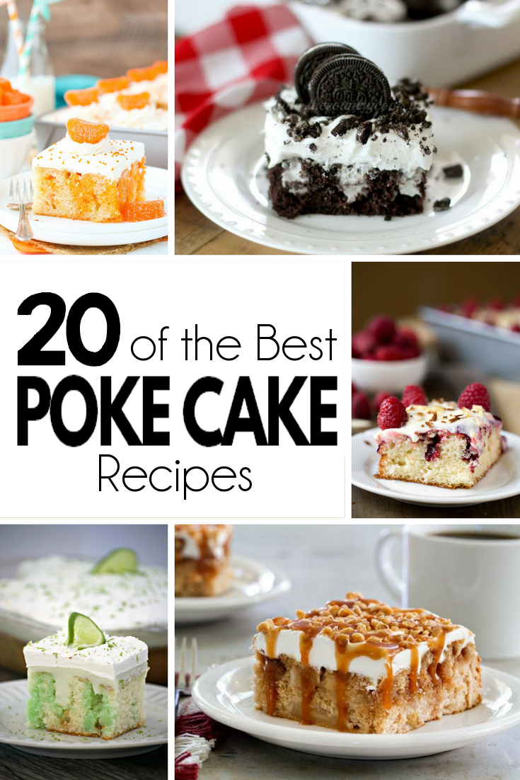 Poke Cakes are a simple and delicious way to add some pizzazz to your regular cake mix.