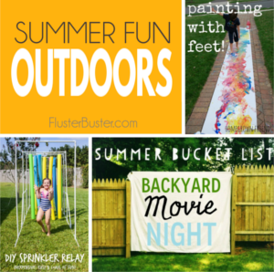 Summer Fun Outdoor Activities