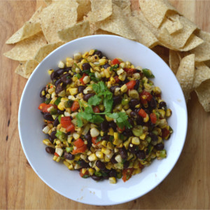 Simple Roasted Mexican Corn Salad