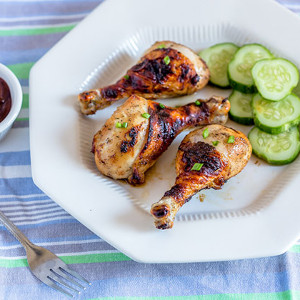 Crispy Baked Chicken Drumsticks