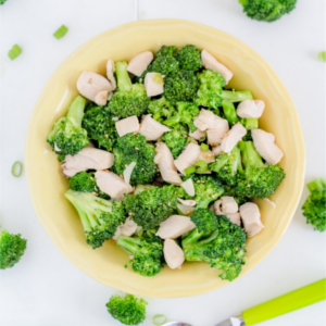 Simple, healthy chicken broccoli stir-fry