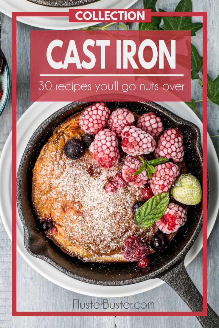 There's just something about cooking with cast iron that beats everything else. Cast Iron has a unique way of making everything taste so much better.