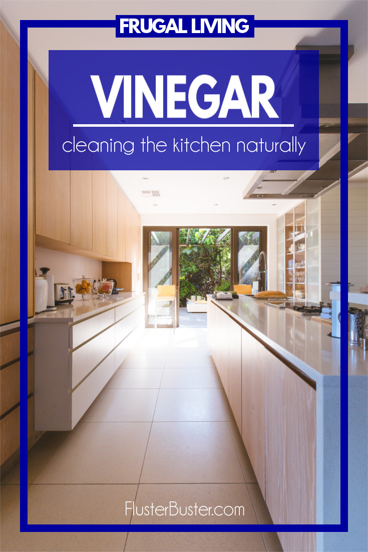 Naturally cleaning your kitchen. 29 things you can clean in your kitchen with vinegar.