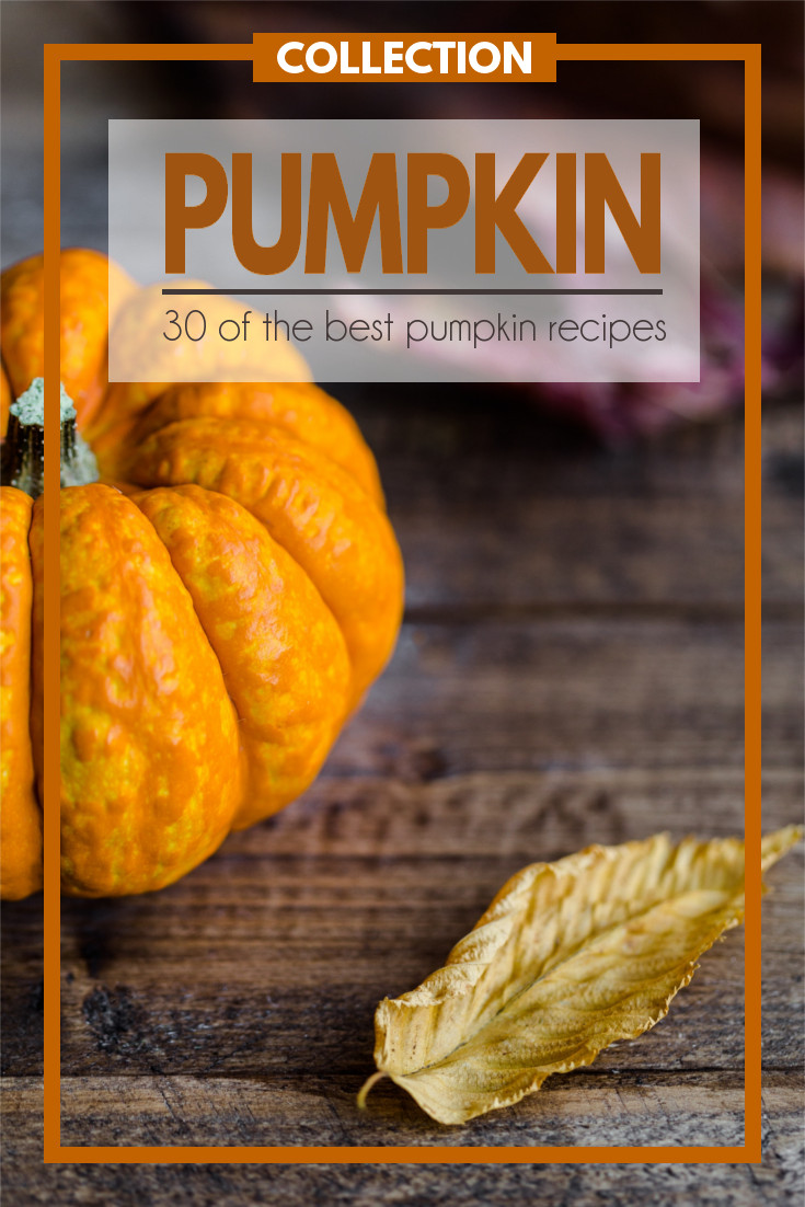 A collection of 30 of the Best Pumpkin Recipes