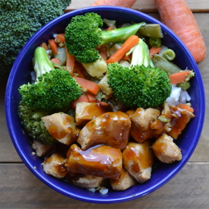 Simple Teriyaki Chicken Bowls for an Easy Weeknight Meal