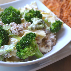 Italiano Bow Tie Chicken & Broccoli Pasta
