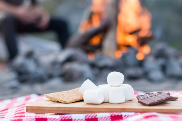 A collection of breakfast, lunch, dinner & dessert recipes for your next camping trip.