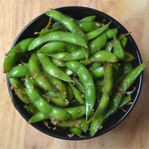Simple 10-Minute Garlic Edamame