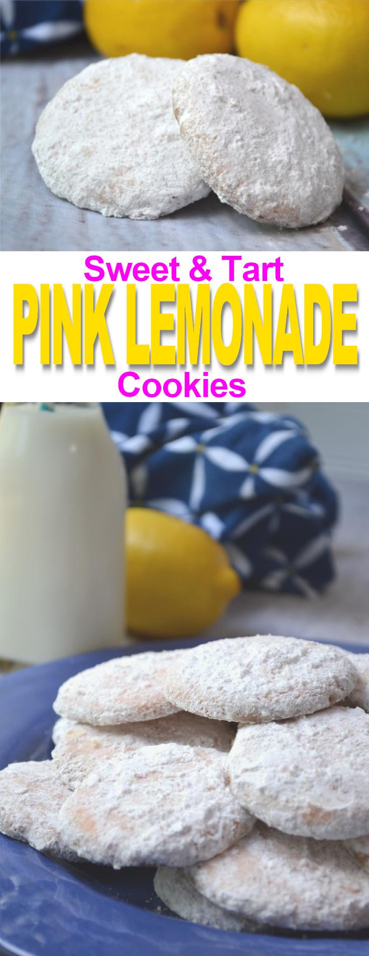 SWEET TART PINK LEMONADE COOKIES FLUSTER BUSTER