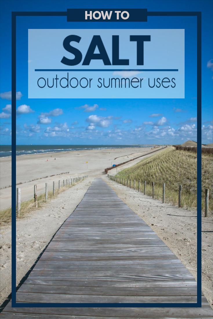 A list of how to use salt outside this summer to make life a little more simple and get things done at a fraction of the price.