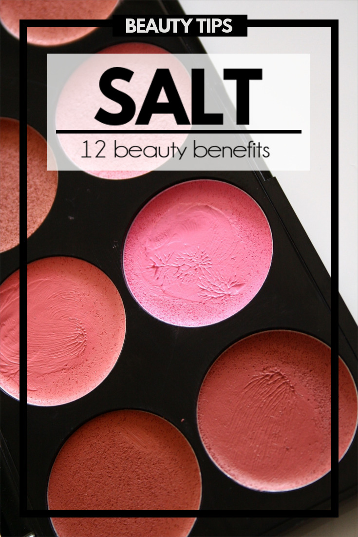 Salt can do a whole host of things, but adding it to your beauty routine has got to be the best.