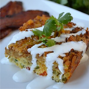 Mexican Breakfast Casserole Perfect for the Busy Holidays
