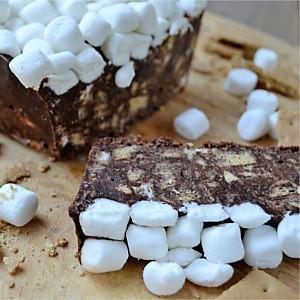 Simple No-Bake S'mores Refrigerator Cake