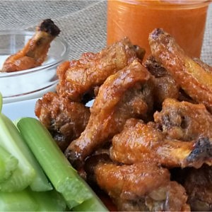 A simple sauce that is slightly spicy, with a little heat and a nice buttery texture. This buffalo sauce is a milder and more sumptuous form of hot sauce and tastes amazing smothered over chicken wings or used to replace traditional hot sauce.