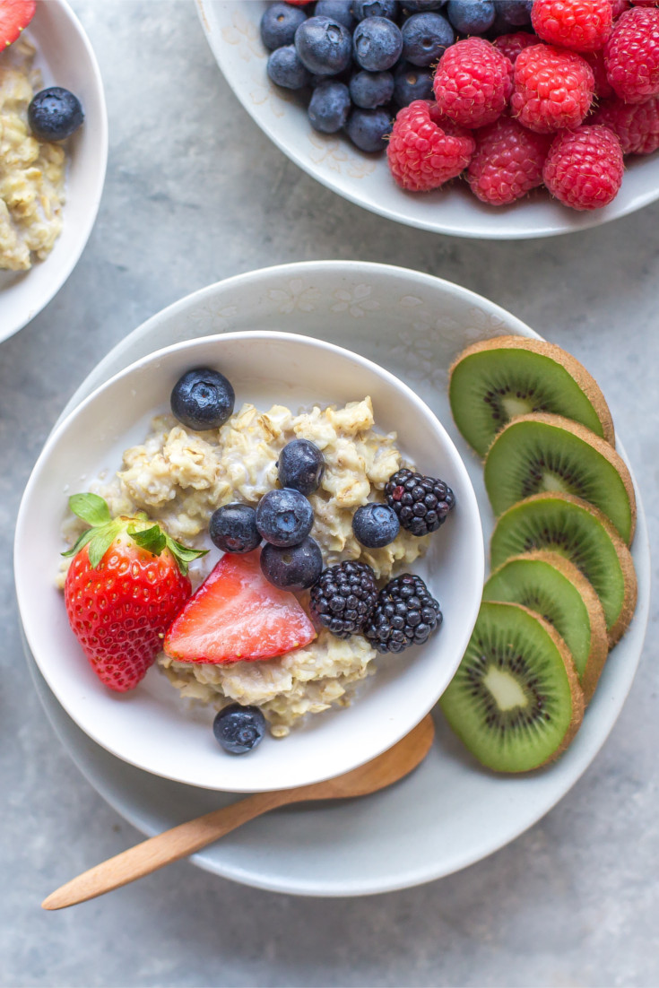 This simple recipe is a delicious and healthy way to start the day and with all of the different fruit and nut combinations available you'll never get bored.