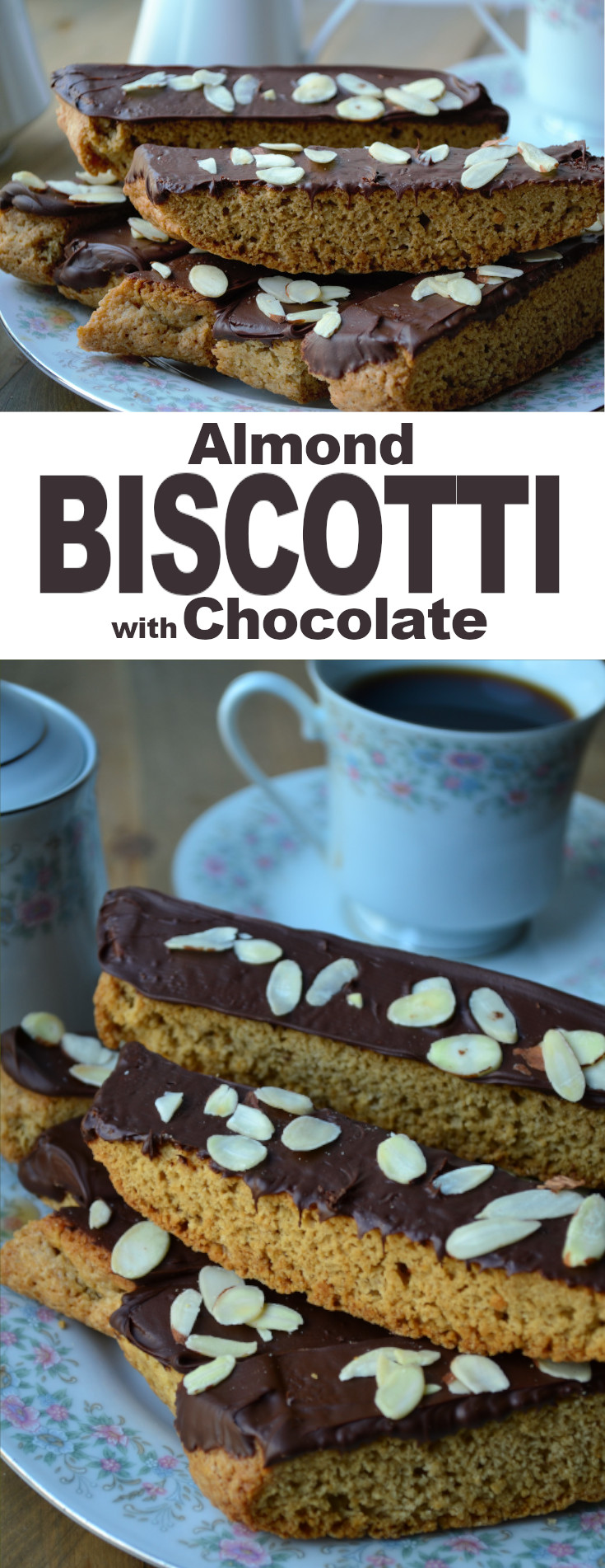 A simple Italian, almond flavored biscuit, that is slightly sweet, super crunchy and perfect for dipping in your favorite hot beverage.