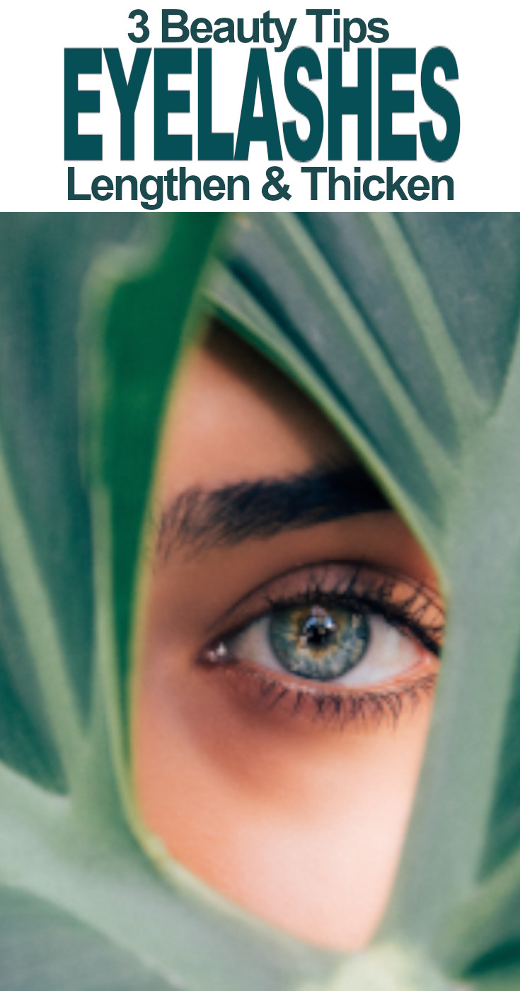 Nourish and grow thick beautiful lashes that are 100% your own with these simple beauty tips.
