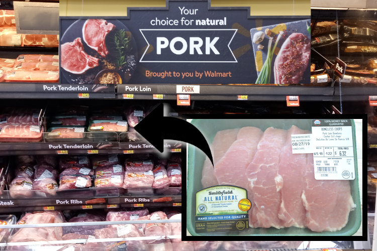 #shop #EasyNaturalSmithfield #AllNaturalPork #GuaranteedTender #CollectiveBias